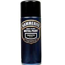 Hammerite Smooth Black 400ml