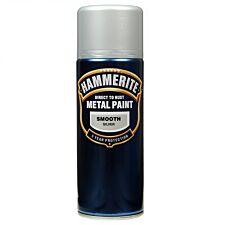 Hammerite Metal Paint Smooth Silver 400ml
