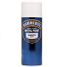 Hammerite Metal Paint Smooth White 400ml