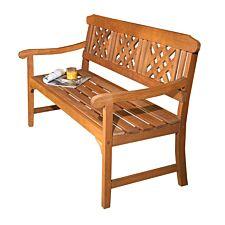 Robert Dyas FSC 3-Seater Garden Fence Bench