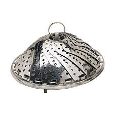 KitchenCraft Stainless Steel Steaming Basket - 23cm