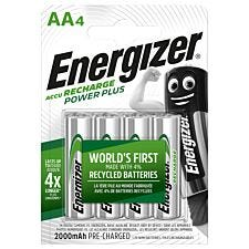 Energizer Rechargeable AA Batteries - 4 Pack