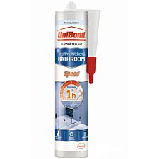 UniBond Speed Kitchen and Bathroom Sealant - Translucent