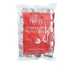 Price's Sentinel Nightlights – Pack of 50