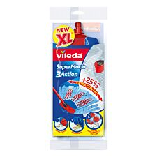 Vileda Supermocio 3Action Mop Refill
