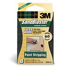 3M Sandblaster (TM) Dual Angle Sanding Sponge - Coarse 60