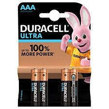 Duracell Ultra Power Batteries AAA - Pack of 4