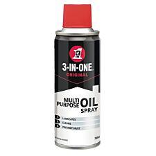 WD-40 3-in-1 Multi-Purpose Oil Spray - 200ml