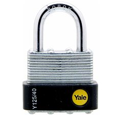 Yale 40mm Laminated Padlock