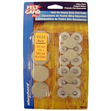 Select Hardware Nail-In Felt Pads Value Multipack (20 Pack)