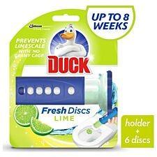 Duck Fresh Gel Discs  For Toilet Bowls - Lime Zest