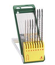 Bosch 8 Piece T-shank Jigsaw Blade Set