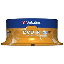 Verbatim DVD-R Spindle 25pk