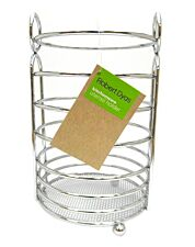 Robert Dyas Utensil Holder Round Wire Chrome Plated