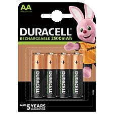 Duracell StayCharged Rechargeable Batteries AA - 4 Pack