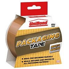 UniBond Packaging Tape 50mm x 50m