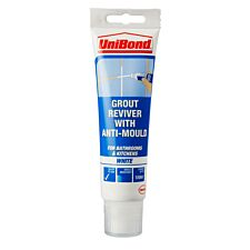 Unibond Grout Reviver White 125ml