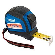 Draper 7.5m Soft Grip Auto Lock Measuring Tape