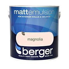 Berger Matt Emulsion – Magnolia, 2.5L