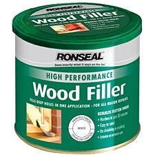 Ronseal Hight Performance Wood Filler White 550