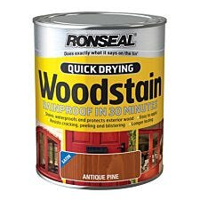 Ronseal Quick Drying Woodstain 750ml
