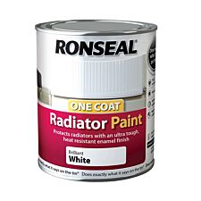 Ronseal Radiator Paint White 250g