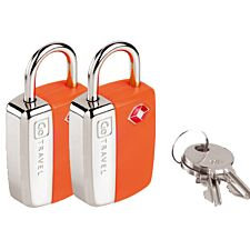 Go Travel Mini Glo TSA Padlocks - Pack of 2