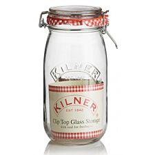 Kilner Preserve Cliptop Round Jar - 1.5 Litre