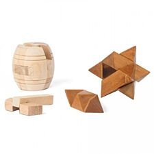 IQ-Buster Wooden Puzzle