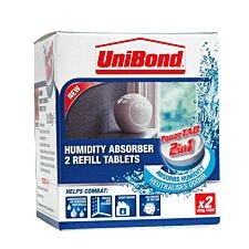 UniBond Humidity Absorber Refills - Pack of 2