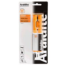 Araldite Instant 90 Second Epoxy Glue - 24ml Syringe