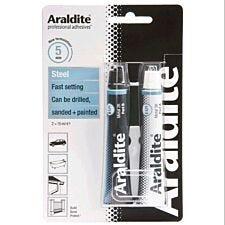 Araldite Rapid Steel Adhesive 15ml Quick Setting Steel Epoxy Glue