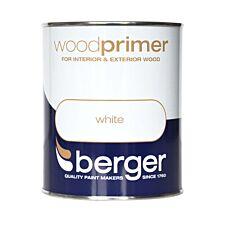 Berger White Wood Primer – 750ml