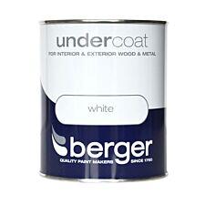Berger Wood & Metal Undercoat – White, 750ml