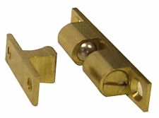 Select Hardware Double Ball Catch Brass 44mm - 1 Pack