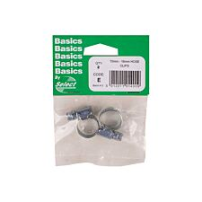 Select Hardware Hose Clips 10mm-16mm (2 Pack)