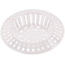 "Select Hardware Sink Strainer 1 1/2"" (1 Pack) - White"