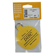 Select Hardware Disc Plate Hanger 75mm (1 Pack)
