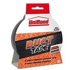 UniBond Duct Black Tape  - 50m