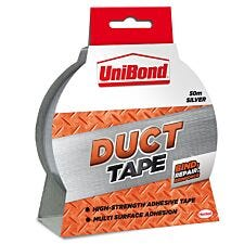 UniBond Duct Silver Tape - 50m