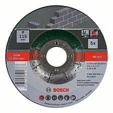 Bosch 5 Piece Cutting Discs For Stone