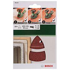 Bosch Mixed Delta Sanding Sheets