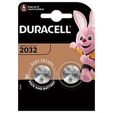 Duracell 2032 Electronics Batteries – 2 Pack