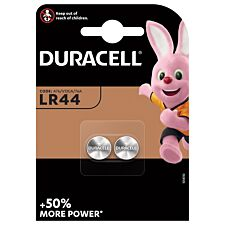 Duracell LR44 Electricals Batteries – 2 Pack