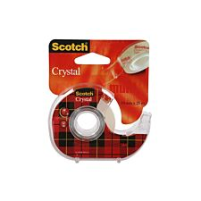 3M Scotch Crystal Clear Tape With Dispenser