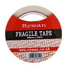 Ryman Fragile Warning Tape