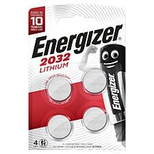 Energizer Lithium CR2032 Batteries - 4 Pack