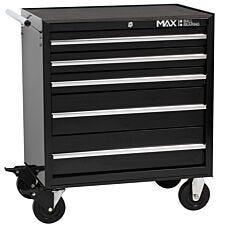 Hilka 5 Drawer Professional Rollaway Cabinet
