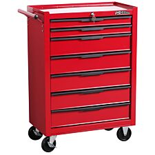 Hilka 7 Drawer Rollaway Tool Cabinet