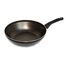 Robert Dyas Aluminium Stir Fry Pan without Lid - 28cm